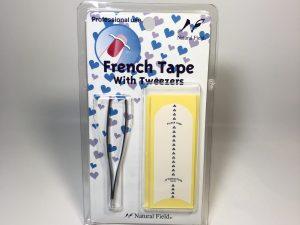フレンチテープ ピンセット付