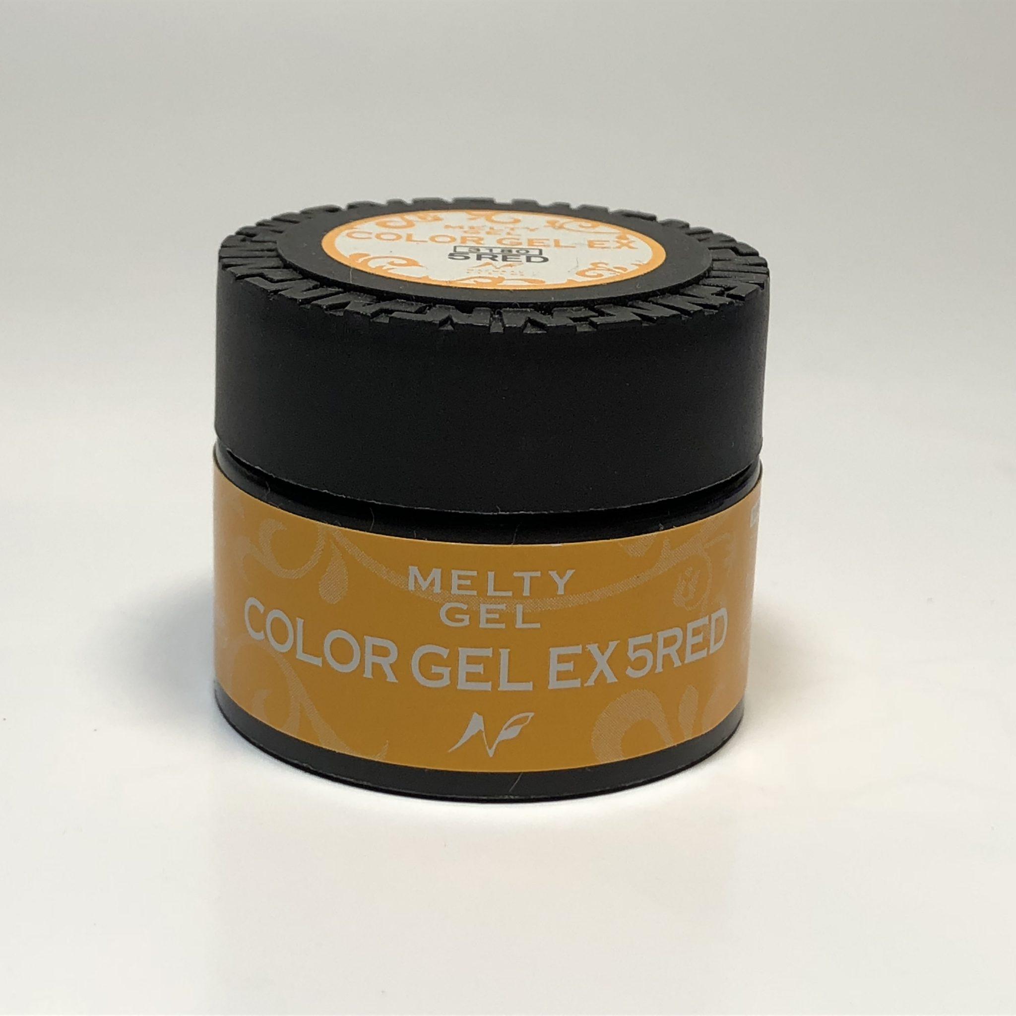 Melty Gel(メルティジェル) カラージェルEX 5RED(ファイブレッド)