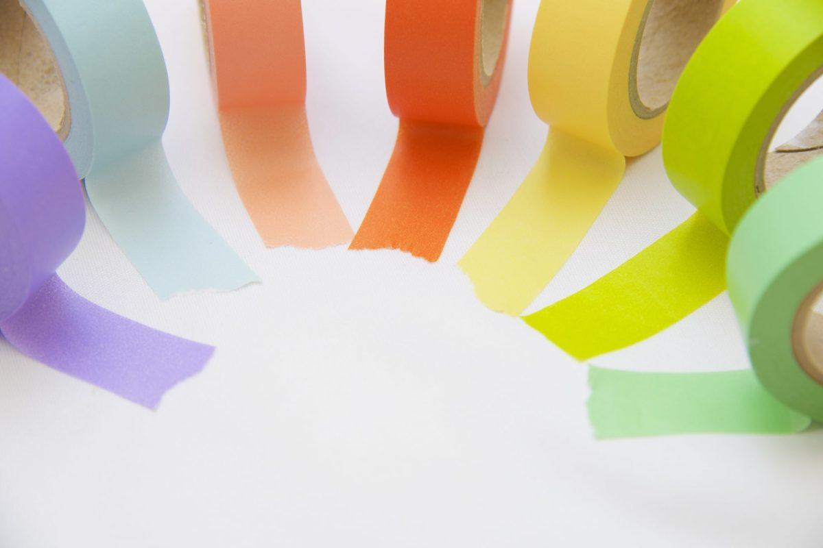 マスキングテープをジェルネイルに活用する3つの方法