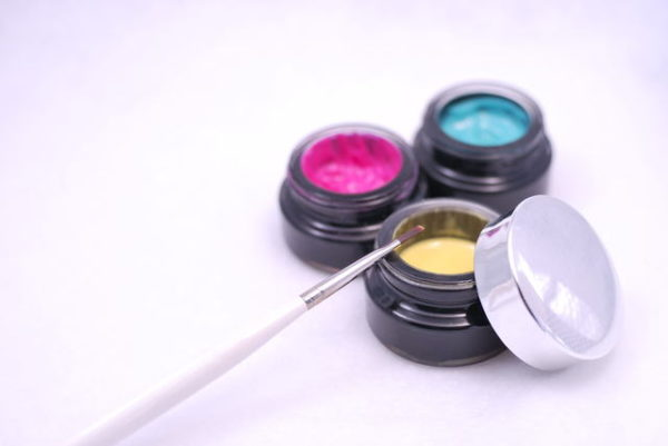 色の3原色 ジェルネイル